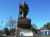 Acto de vandalismo en el monumento emplazado en Plaza Almafuerte 2