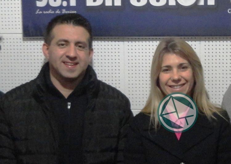 Leandro Nedela y Mariela Mendez