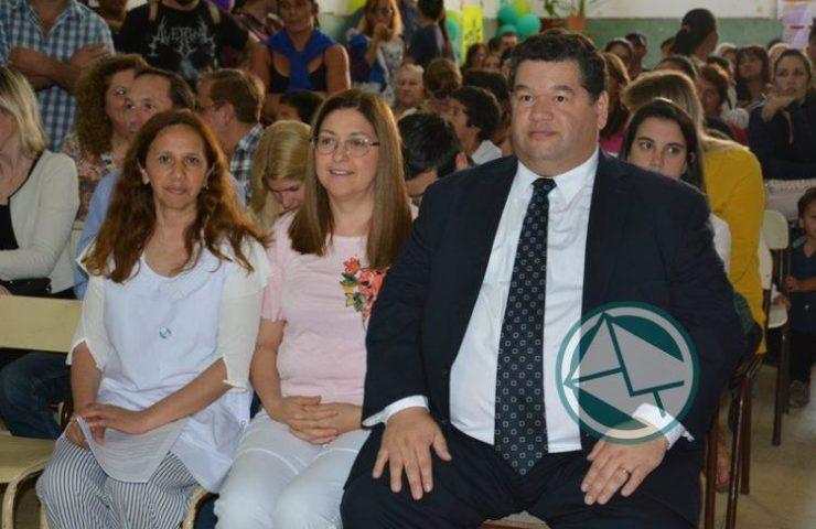 Nedela participó del cierre oficial del Ciclo Lectivo en la Escuela N° 4