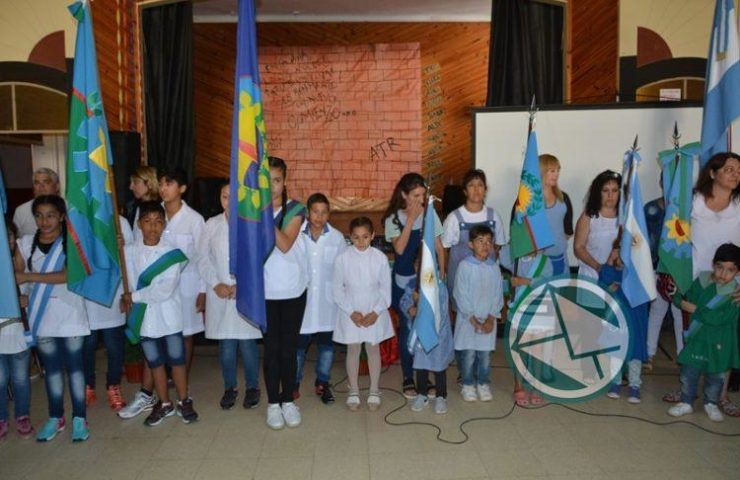 Nedela participó del cierre oficial del Ciclo Lectivo en la Escuela N° 4 C