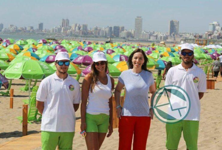 Vidal presentó en Mar del Plata las playas gratuitas2