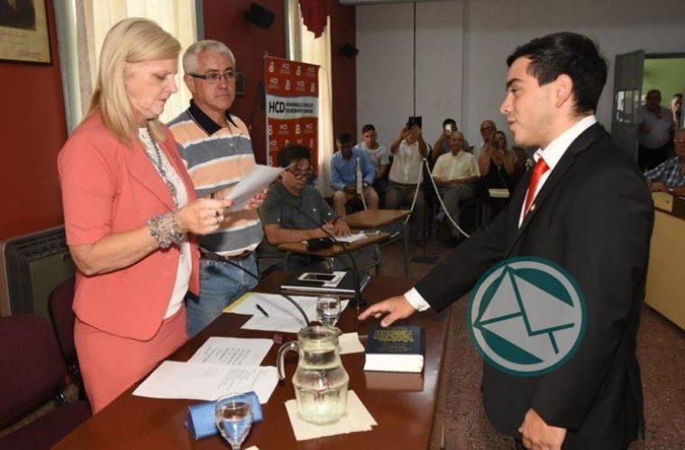 Asuncion a presidencia del HCD Matias Nanni