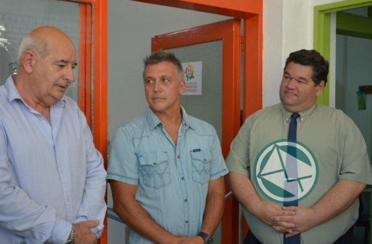 Nedela inauguró las oficinas del Consejo Municipal de Discapacidad en la Mutual 10 de Junio01