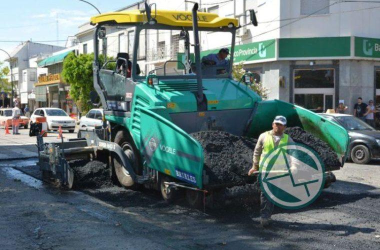Nedela recorrió la repavimentación de las avenidas Génova y Montevideo3