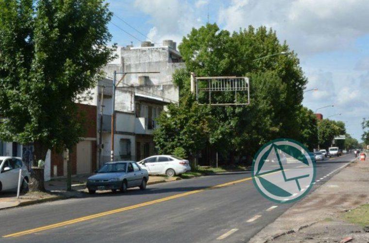 Nedela recorrió la repavimentación de las avenidas Génova y Montevideo5