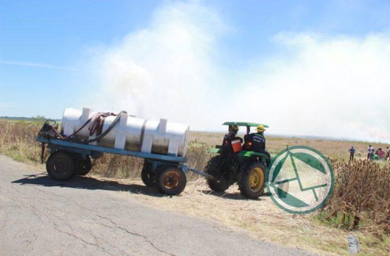 Incendio en la reservade Punata Lara sabado 3 0102