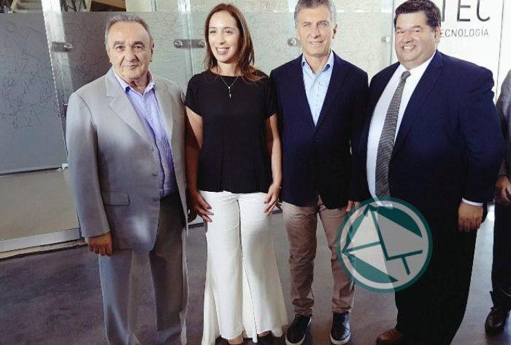 Macri y Vidal recorrieron en Berisso el Y-Tec y el intendnete Jorge Nedela acompañó 06