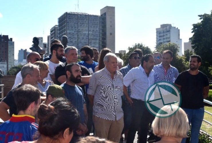 acto por el primer triunfo de Perón en La Plata 01