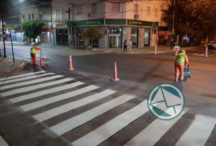 demarcación Avenida Montevideo 01