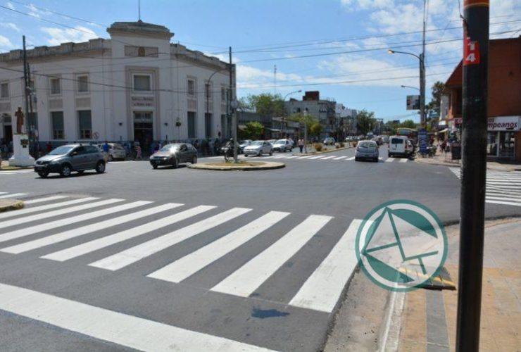 demarcacion Avenida Montevideo dia 1