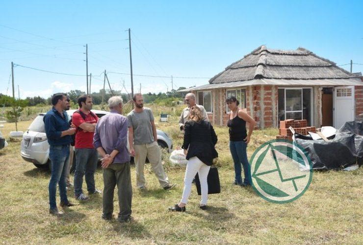 Agroindustria de la Nación visitaron a cooperativas y productores de Berisso 02