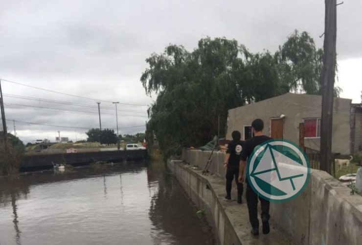 En La Plata dicen que la obras hidráulicas no terminadas mejoraron el escurrimiento de las aguas2