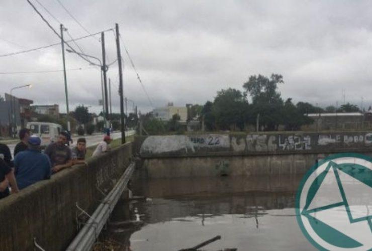 En La Plata dicen que la obras hidráulicas no terminadas mejoraron el escurrimiento de las aguas5