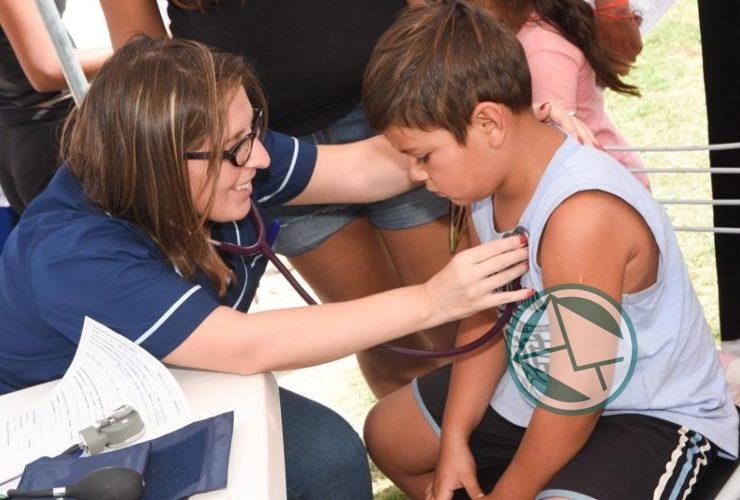Finalizó en el barrio El Carmen el Programa Salud te Encuentra 1