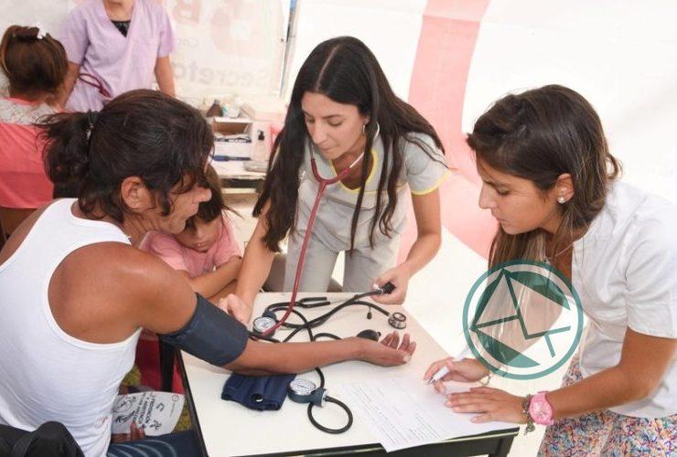 Finalizó en el barrio El Carmen el Programa Salud te Encuentra 2