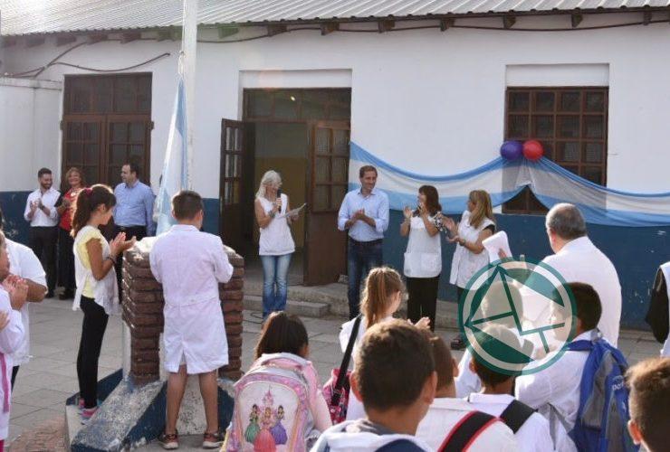 Garro encabezó la inauguración del ciclo lectivo 2018 02
