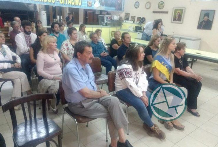 Homenaje a gran poeta ucranio Taras Shevchenko en Berisso 3