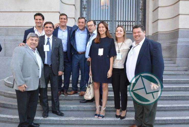 Nedela participó en el Gabinete Ampliado de Macri realizado en el CCK 02