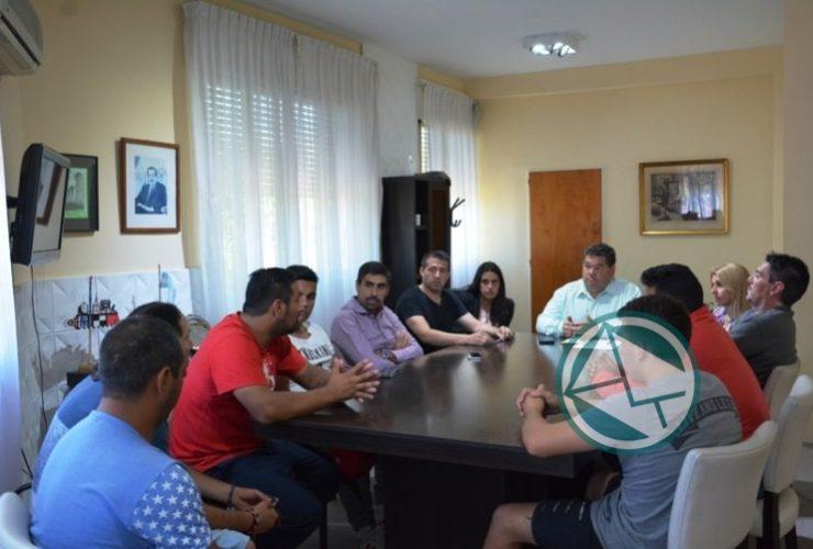 Reunión del intendente Nedela con el Club Zona Nacional 02