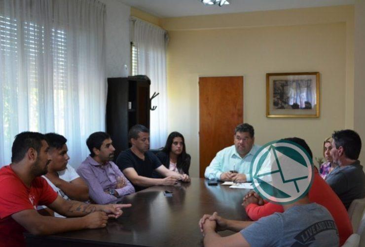 Reunión del intendente Nedela con el Club Zona Nacional 03