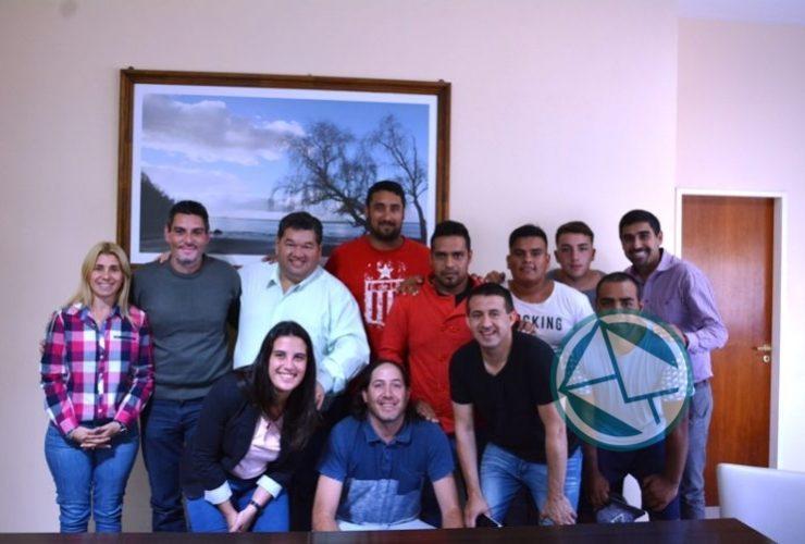 Reunión del intendente Nedela con el Club Zona Nacional 04