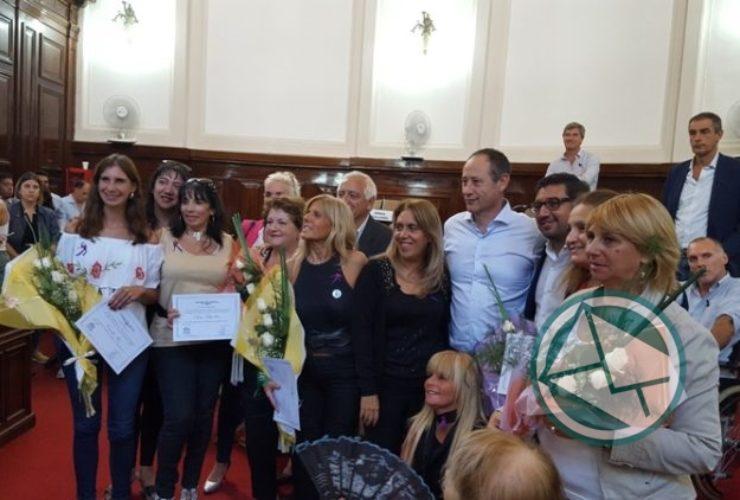 Sesión Especial Homenaje a Mujeres de cara al #8M en el Concejo Deliberante Platense 02