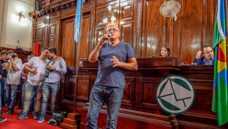 Apoyo del Concejo Deliberante Platense a la lucha de los trabajadores del Astillero 03