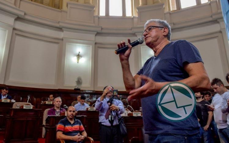 Apoyo del Concejo Deliberante Platense a la lucha de los trabajadores del Astillero 04