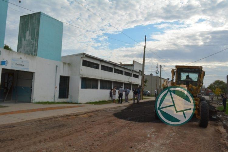 Arreglo de los accesos al CIC del Barrio Obrero2