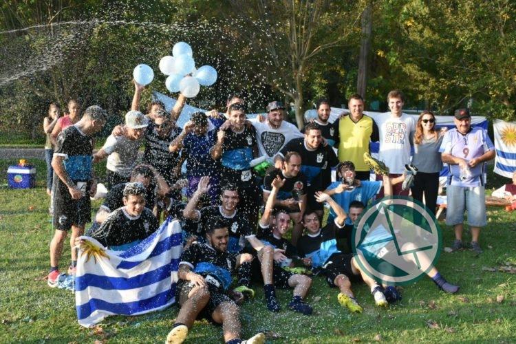 Colectividad Uruguaya se consagró Campeón