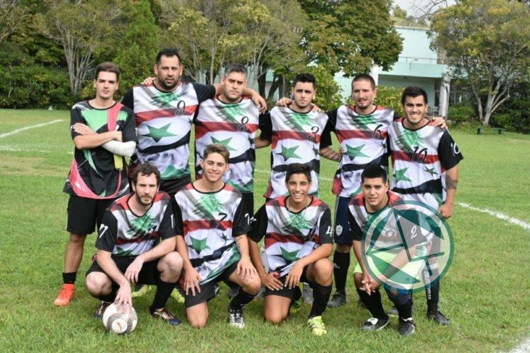 Equipo fútbol de la Colectividad Árabe