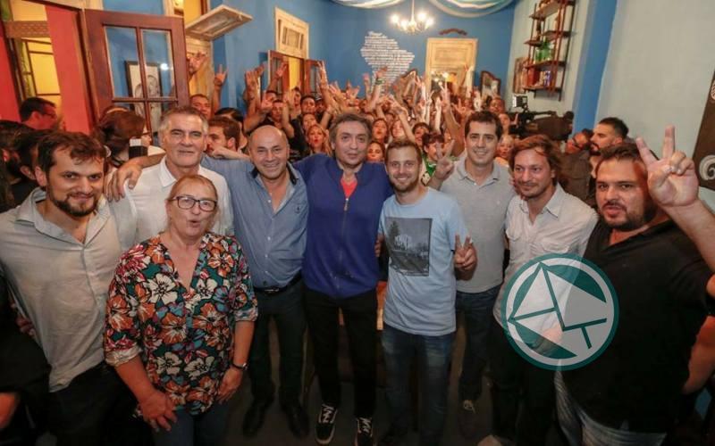 Máximo Kirchner pasó por Ensenada y los ediles de PJ-Unidad Ciudadana de Berisso 01