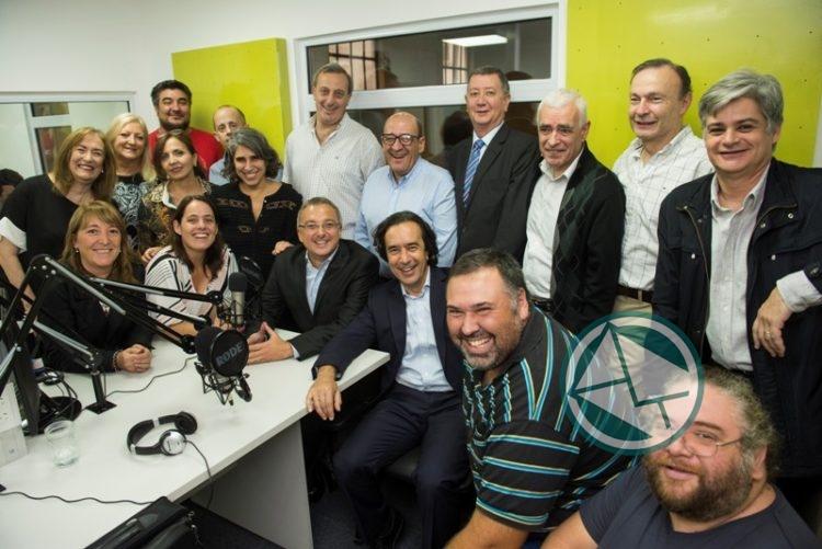 Se inauguró el nuevo estudio de Radio Provincia, pero en CABA 03