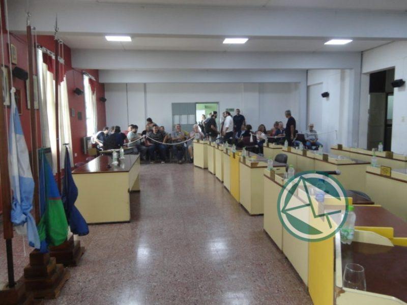 segunda Sesión Ordinaria del Concejo Deliberante de Berisso 01