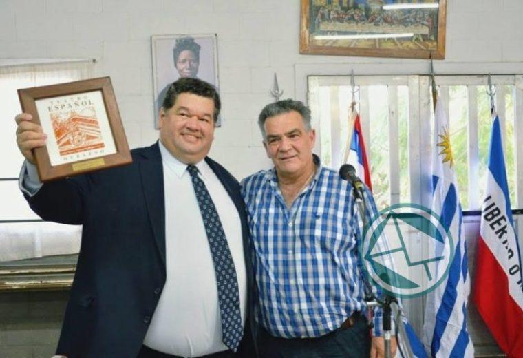 Encuentro junto a intendente de Durazno – Uruguay