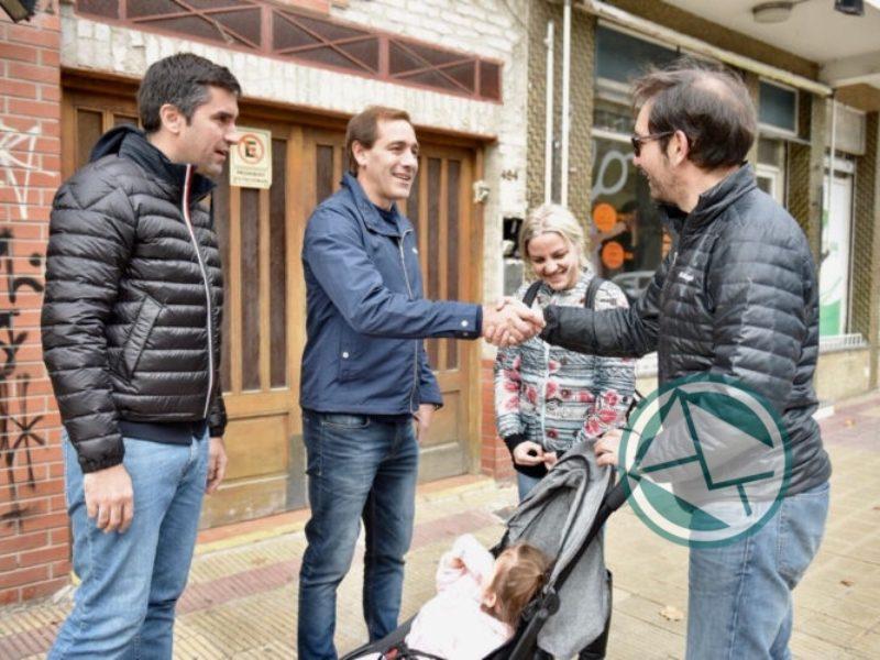 Garro y Mosca timbreando en La Plata 1