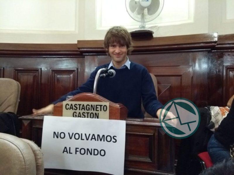 Gastón Castagneto no volvamos al Fondo
