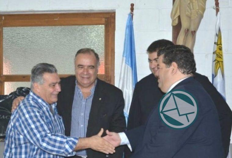 Reunión Intendente de Berisso, de Durazno y Embajador