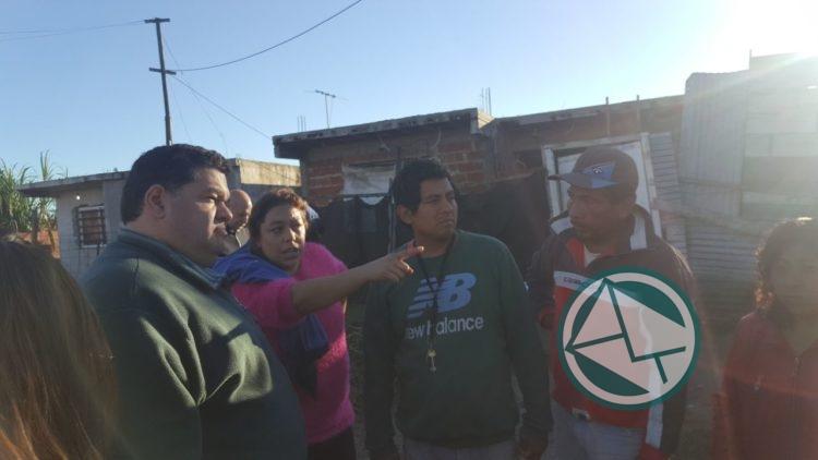 intendente Nedela salió a recorrer Villa Argüello y Villa Nueva 4