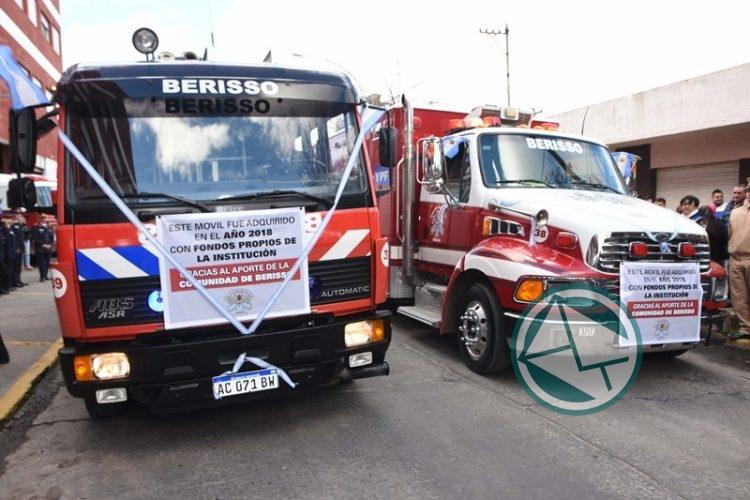 Acto por el Día del Bombero Voluntario en Berisso 3