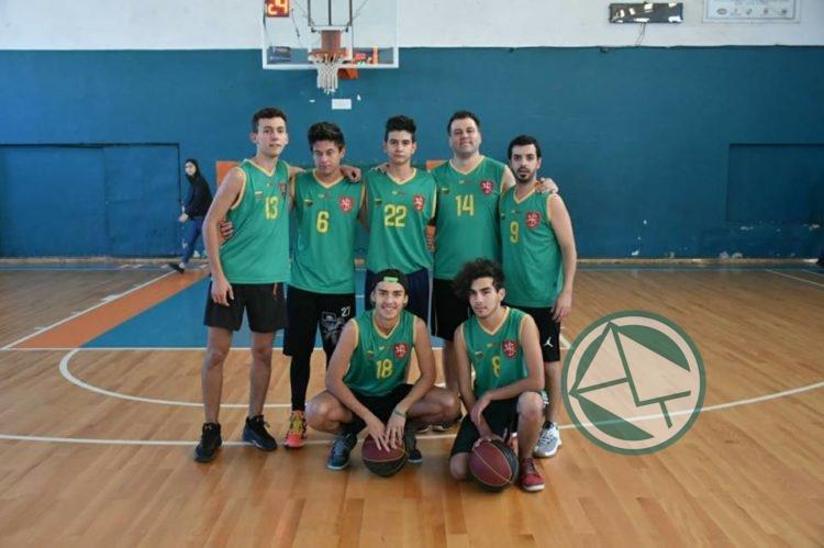 Equipo de básquet lituano – 4º Torneo de Básquet Inter-Colectividades
