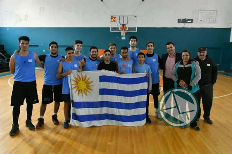 Equipo de básquet uruguayo – Segundo puesto 4º Torneo de Básquet Inter-Colectividades2