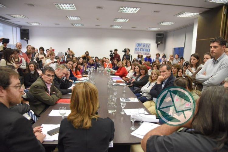 La oposición pidió que se anule la resolución de Vidal que desmantela los Gabinetes EOE 2