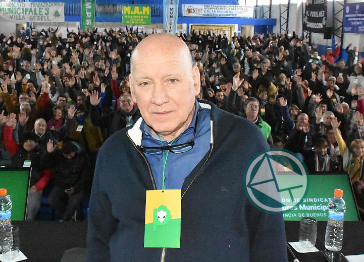 Ruggiero renovó como secretario General del FSTMPBA 1