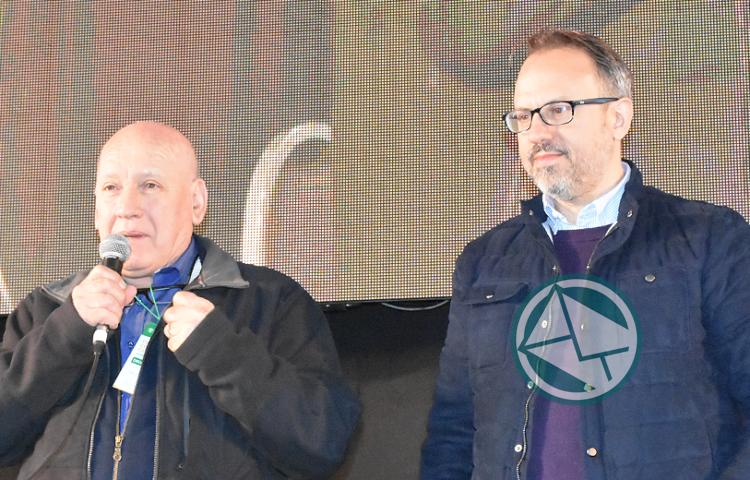 Ruggiero renovó como secretario General del FSTMPBA 2