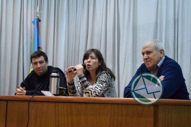Silvina Batakis en PJ La Plata 1