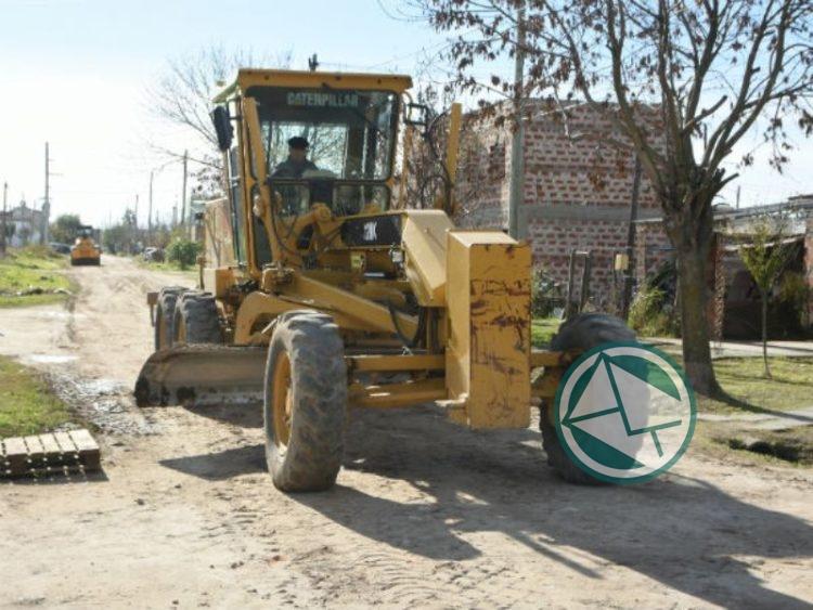 Trabajos de reparación y acondicionamiento de calles Berisso1