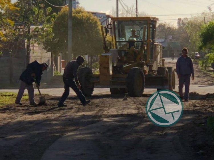 Trabajos de reparación y acondicionamiento de calles Berisso2