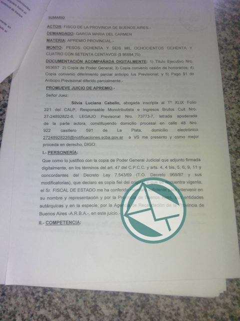 expediente juicio Garcia ARBA3
