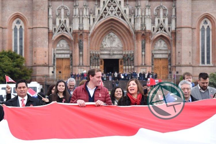 197° Aniversario de la Independencia de Perú en La Plata 01